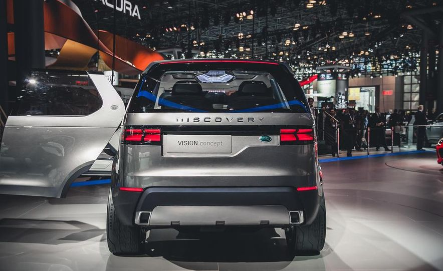 Land Rover Discovery Vision concept - Slide 4