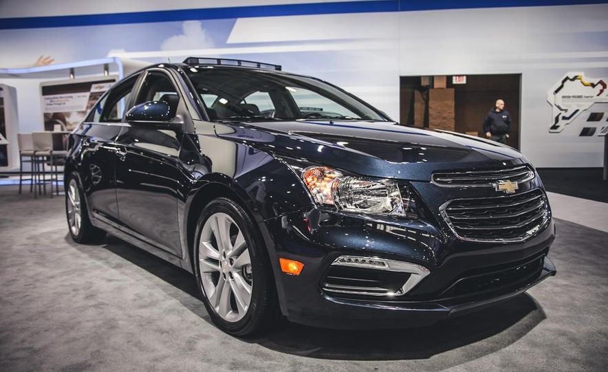2015 chevrolet cruze photos and info news car and driver 2015 chevrolet cruze quiet competence continued
