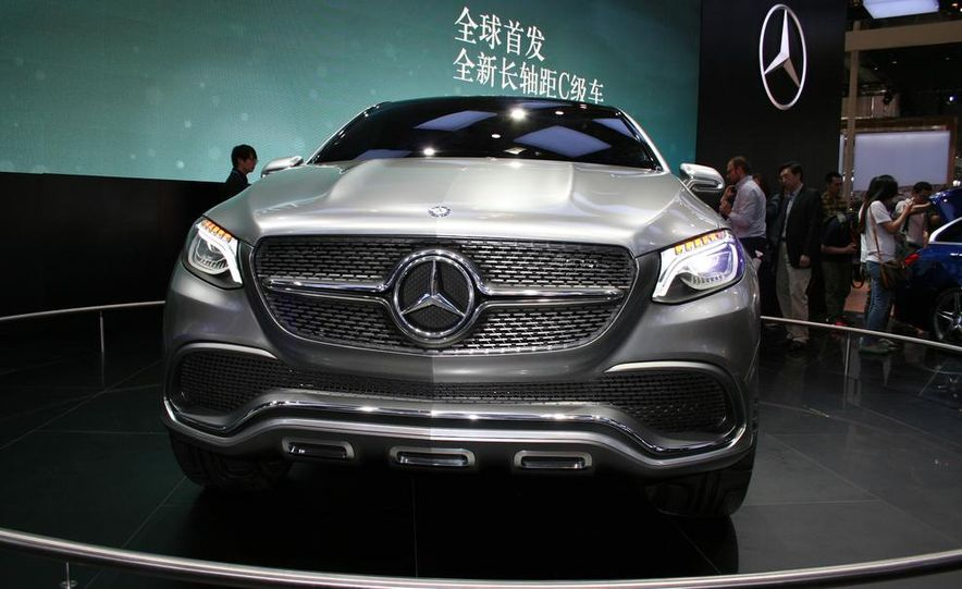 mercedes benz concept coup suv image image image - Mercedes Benz Concept Coup Suv