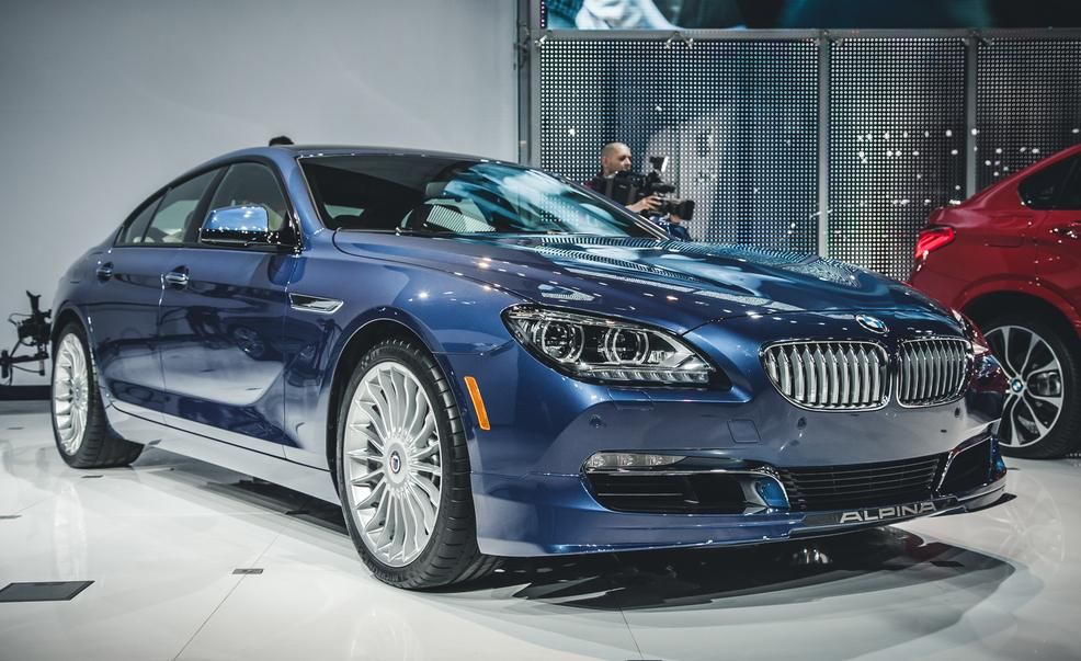 2015 BMW Alpina B6 XDrive Gran Coupe Pictures