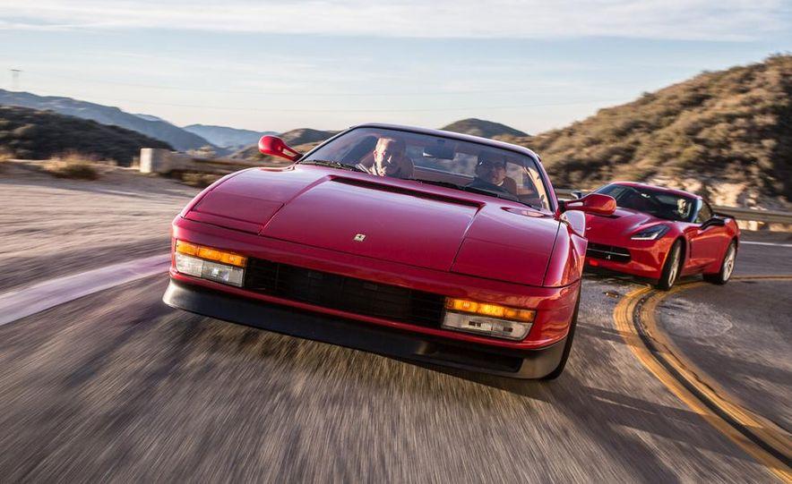 1990 Ferrari Testarossa and 2014 Chevrolet Corvette Stingray - Slide 3
