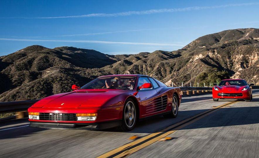 1990 Ferrari Testarossa and 2014 Chevrolet Corvette Stingray - Slide 6