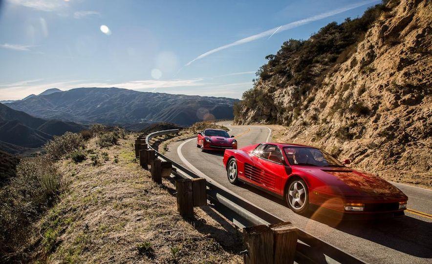 1990 Ferrari Testarossa and 2014 Chevrolet Corvette Stingray - Slide 12