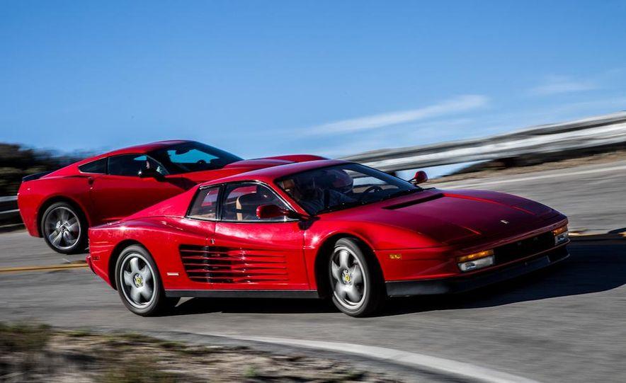 1990 Ferrari Testarossa and 2014 Chevrolet Corvette Stingray - Slide 13