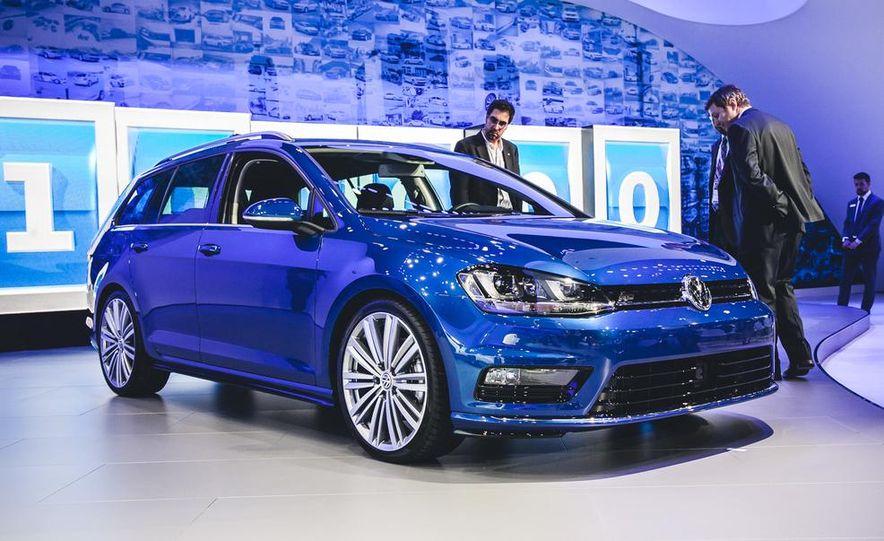 Volkswagen Golf SportWagen concept - Slide 1