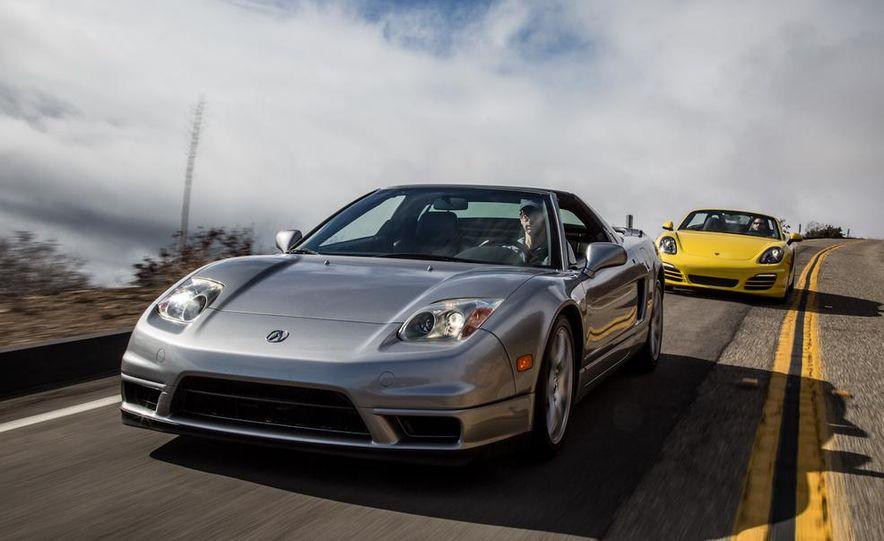 2005 Acura NSX-T and 2013 Porsche Boxster - Slide 2