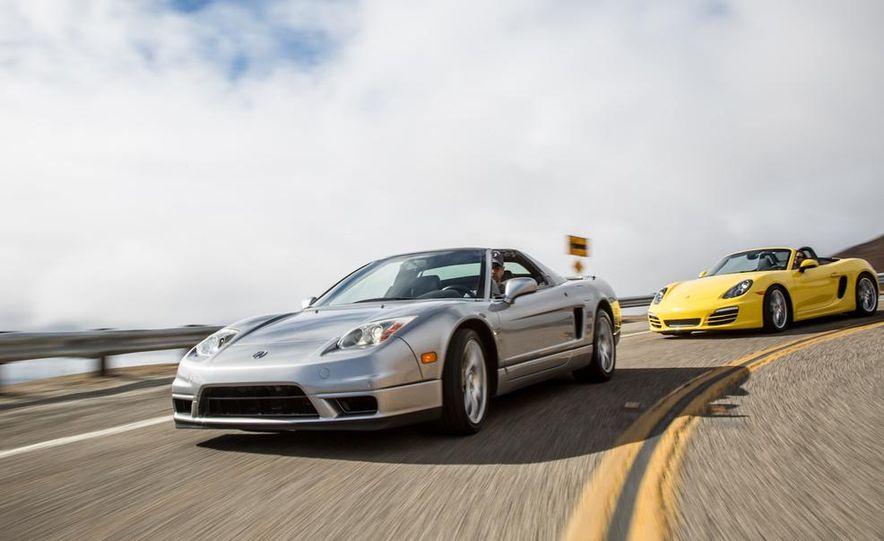 2005 Acura NSX-T and 2013 Porsche Boxster - Slide 3