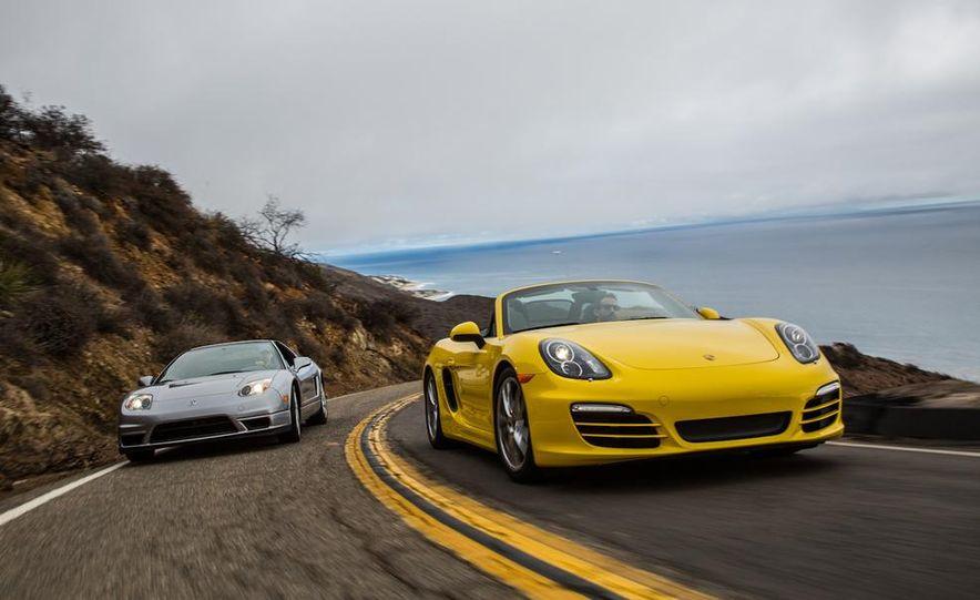 2005 Acura NSX-T and 2013 Porsche Boxster - Slide 11