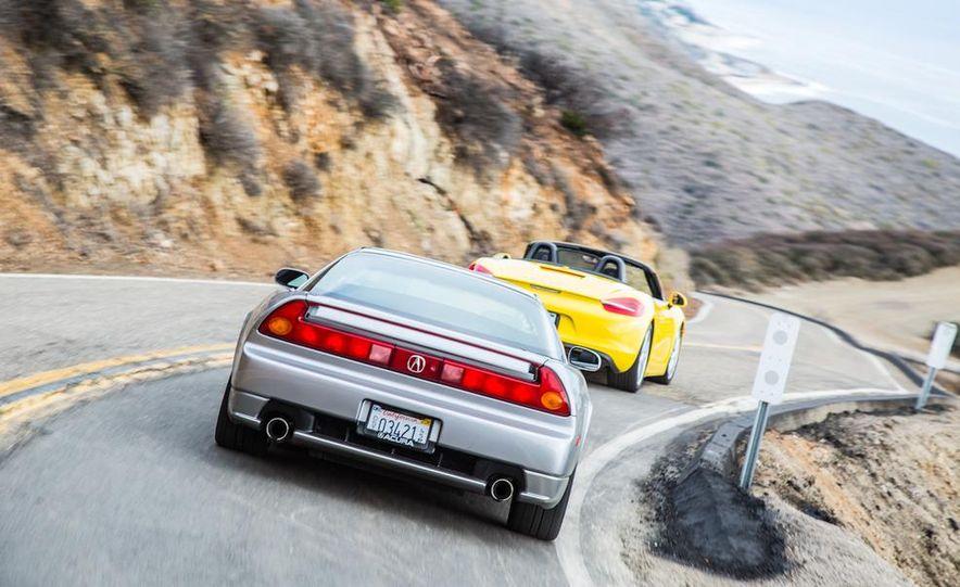 2005 Acura NSX-T and 2013 Porsche Boxster - Slide 12