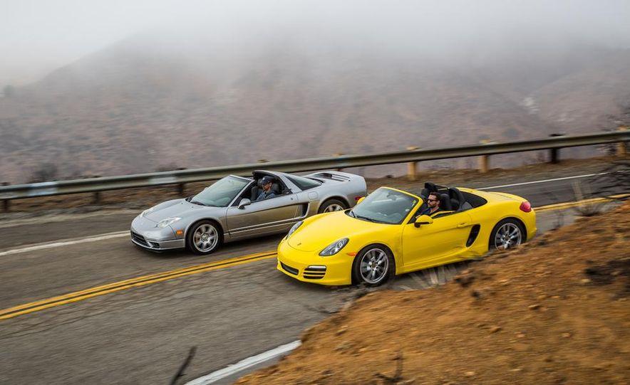 2005 Acura NSX-T and 2013 Porsche Boxster - Slide 16