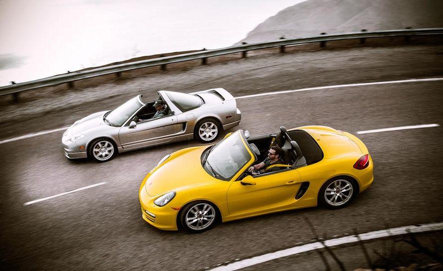 2005 Acura NSX-T and 2013 Porsche Boxster - Slide 17