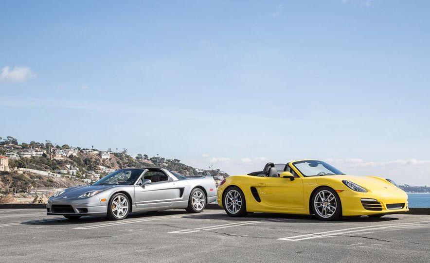 2005 Acura NSX-T and 2013 Porsche Boxster - Slide 21