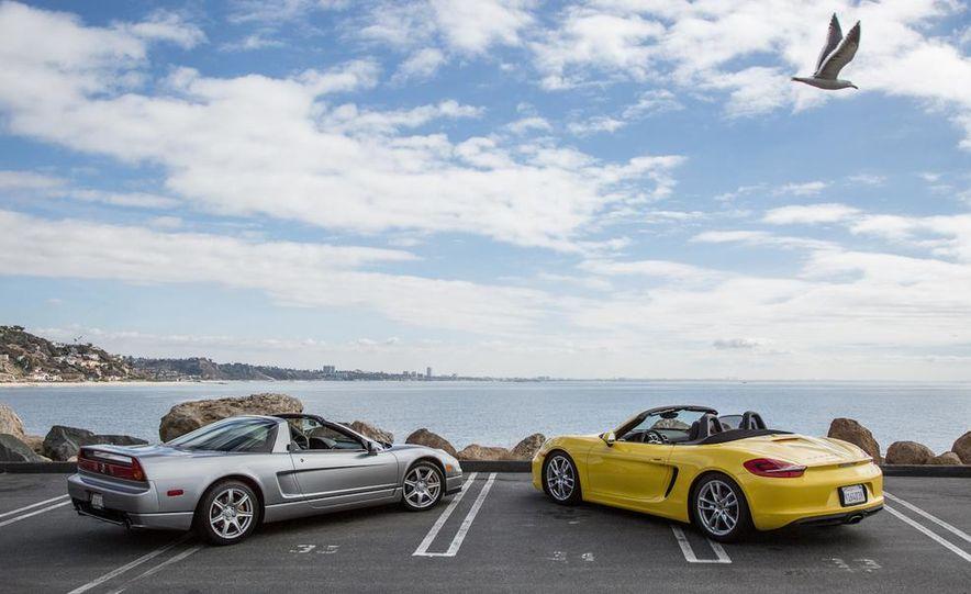 2005 Acura NSX-T and 2013 Porsche Boxster - Slide 22