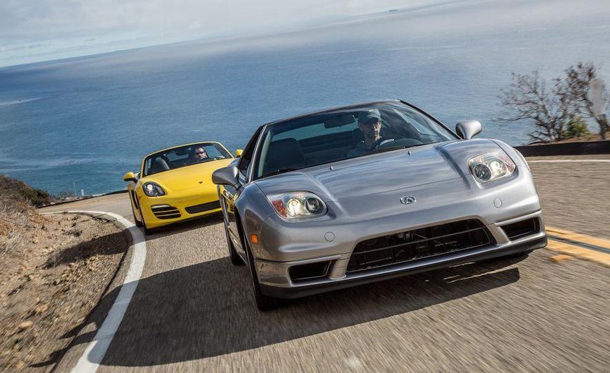 2005 Acura NSX-T and 2013 Porsche Boxster - Slide 4