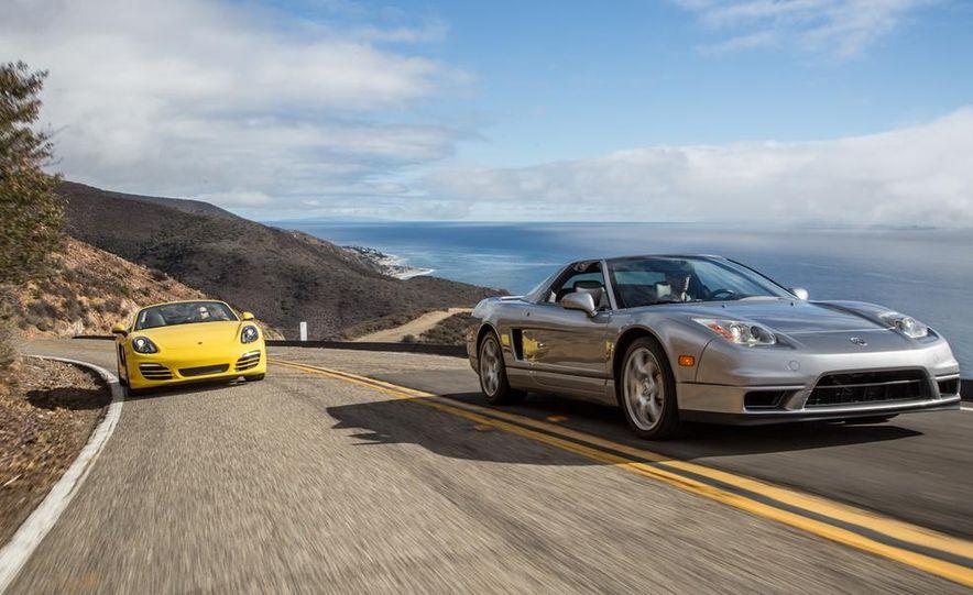 2005 Acura NSX-T and 2013 Porsche Boxster - Slide 5