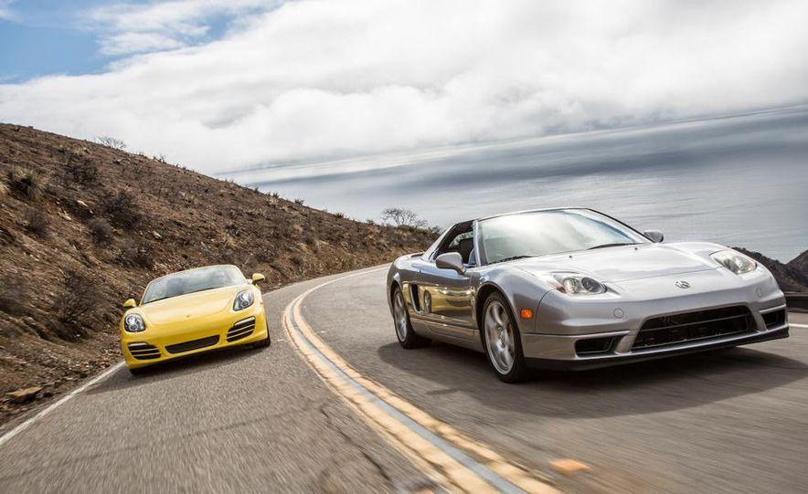 2005 Acura NSX-T and 2013 Porsche Boxster - Slide 6
