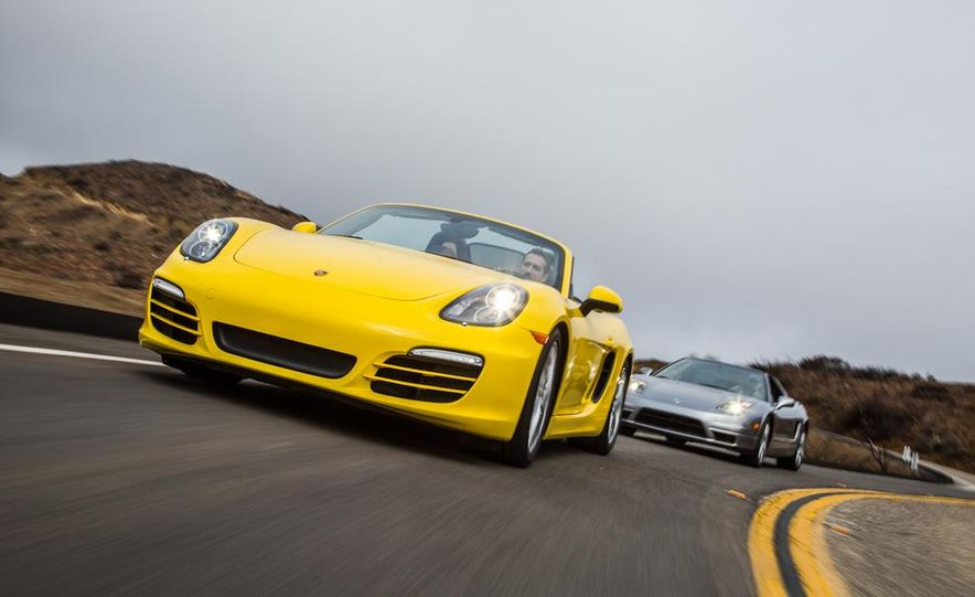 2005 Acura NSX-T and 2013 Porsche Boxster - Slide 8