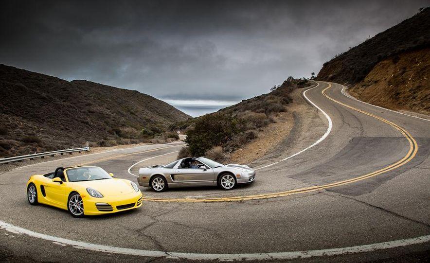 2005 Acura NSX-T and 2013 Porsche Boxster - Slide 18