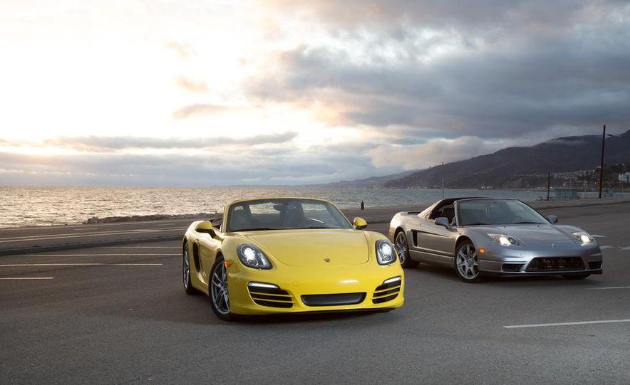 2005 Acura NSX-T and 2013 Porsche Boxster - Slide 19