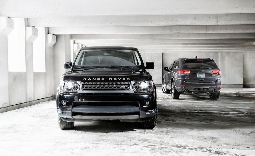 2010 Land Rover Range Rover Sport HSE and 2014 Jeep Grand Cherokee 4x4 Overland - Slide 2