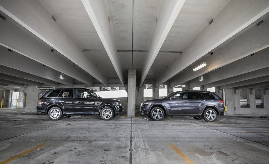 2010 Land Rover Range Rover Sport HSE and 2014 Jeep Grand Cherokee 4x4 Overland - Slide 3