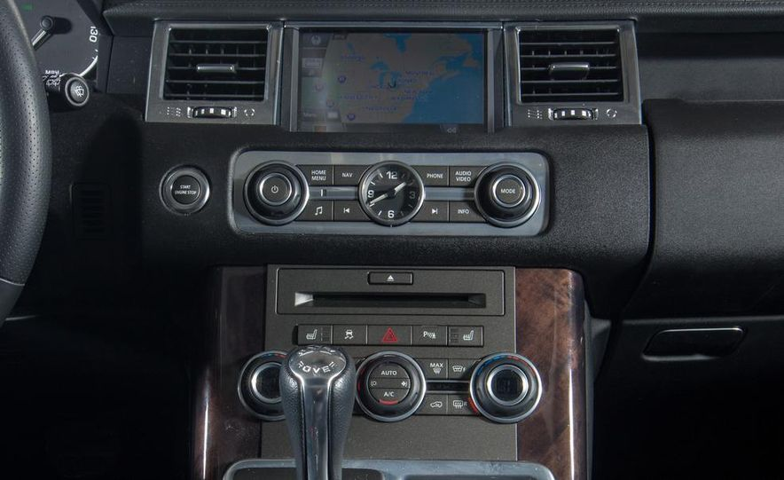2010 Land Rover Range Rover Sport HSE and 2014 Jeep Grand Cherokee 4x4 Overland - Slide 27