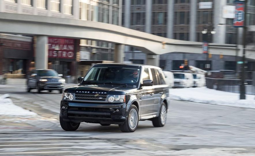 2010 Land Rover Range Rover Sport HSE and 2014 Jeep Grand Cherokee 4x4 Overland - Slide 18
