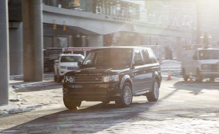 2010 Land Rover Range Rover Sport HSE and 2014 Jeep Grand Cherokee 4x4 Overland - Slide 19