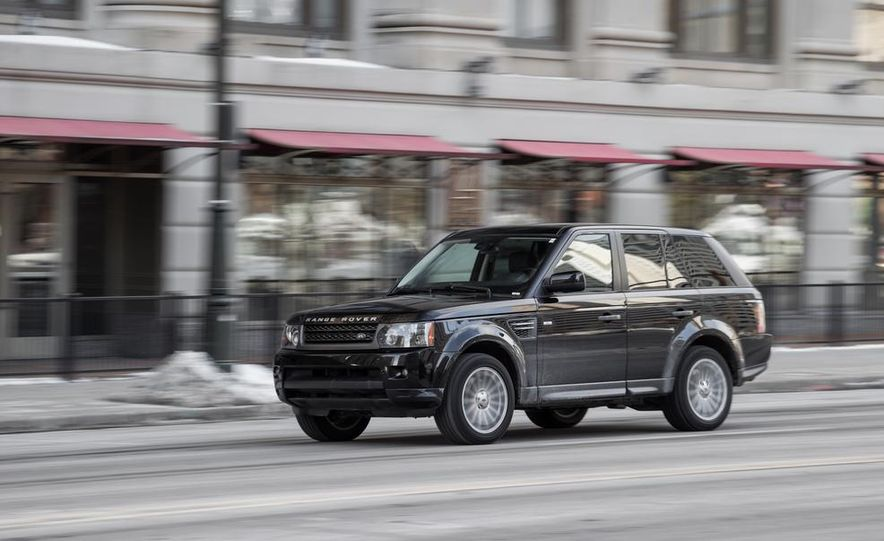 2010 Land Rover Range Rover Sport HSE and 2014 Jeep Grand Cherokee 4x4 Overland - Slide 20