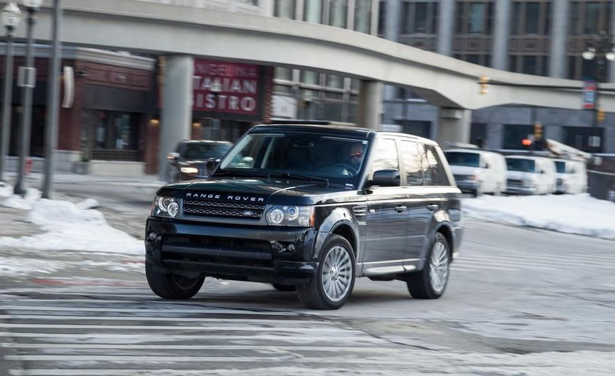 2010 Land Rover Range Rover Sport HSE and 2014 Jeep Grand Cherokee 4x4 Overland - Slide 21