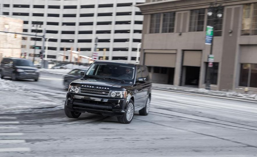 2010 Land Rover Range Rover Sport HSE and 2014 Jeep Grand Cherokee 4x4 Overland - Slide 22