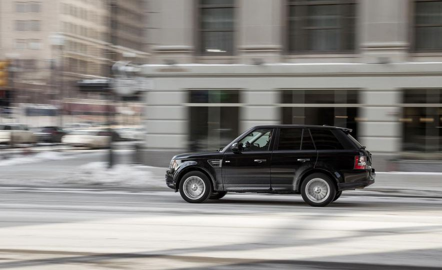 2010 Land Rover Range Rover Sport HSE and 2014 Jeep Grand Cherokee 4x4 Overland - Slide 23