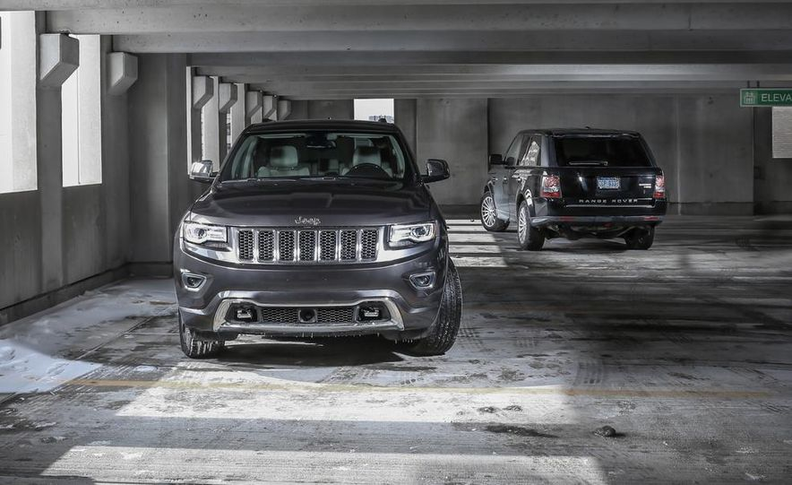2010 Land Rover Range Rover Sport HSE and 2014 Jeep Grand Cherokee 4x4 Overland - Slide 4