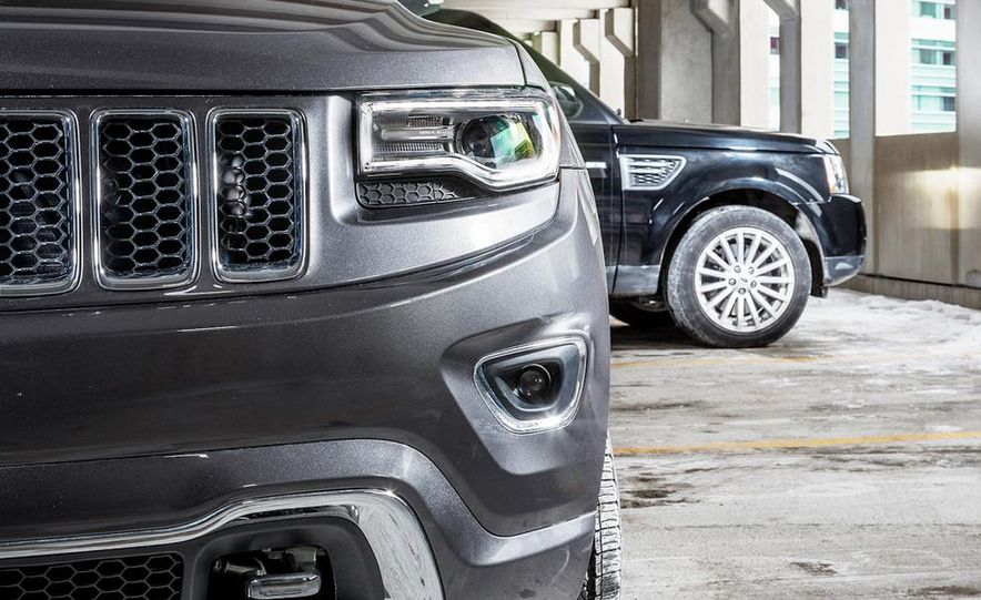2010 Land Rover Range Rover Sport HSE and 2014 Jeep Grand Cherokee 4x4 Overland - Slide 12