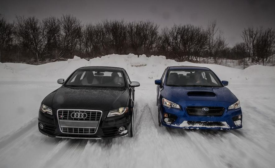 2010 Audi S4 and 2015 Subaru WRX - Slide 1