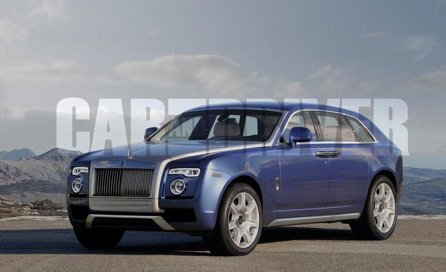 Rolls-Royce SUV (artist's rendering) - Slide 1