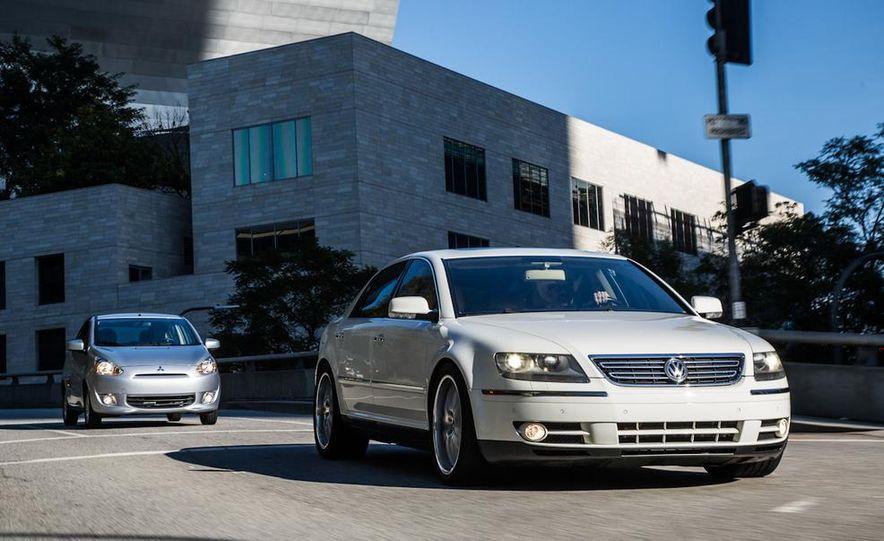 2005 Volkswagen Phaeton and 2014 Mitsubishi Mirage ES - Slide 5