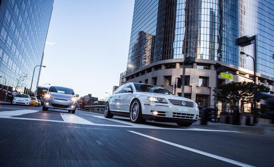 2005 Volkswagen Phaeton and 2014 Mitsubishi Mirage ES - Slide 6