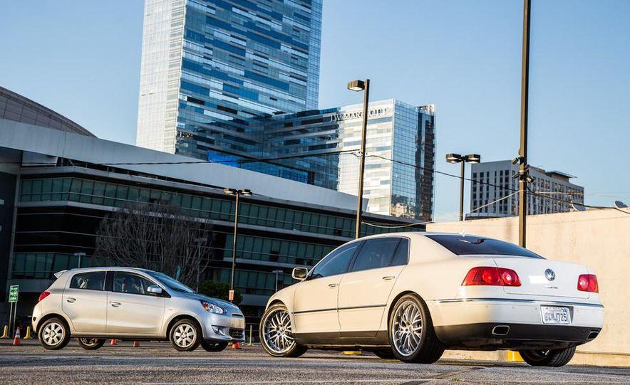 2005 Volkswagen Phaeton and 2014 Mitsubishi Mirage ES - Slide 7