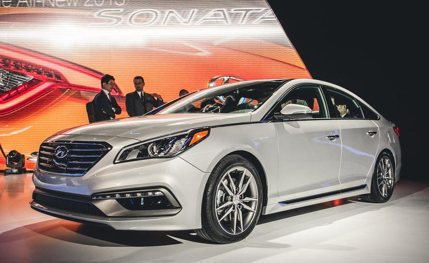 2015 Hyundai Sonata Sport - Slide 1