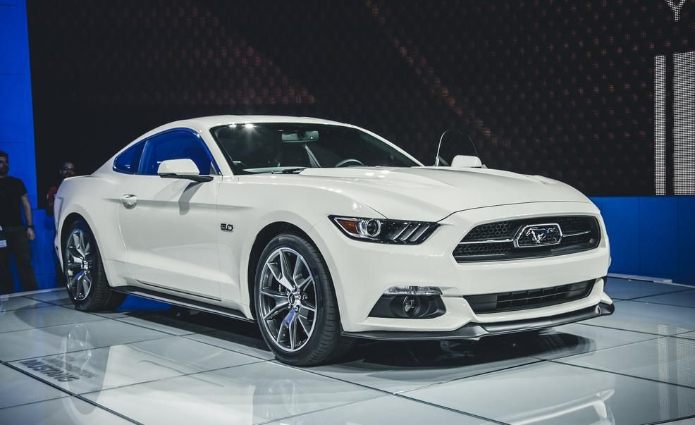 2015 Ford Mustang 50th Anniversary Edition Photos and Info  News