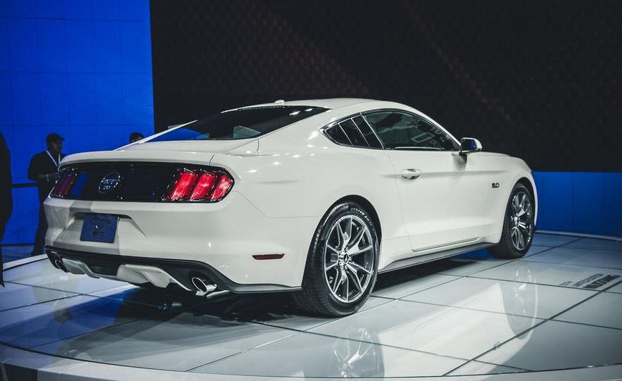 2015 Ford Mustang 50th Anniversary Edition  Photo Gallery  Car