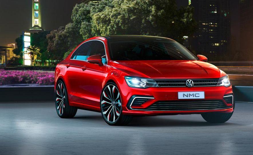Volkswagen New Midsize Coupe concept - Slide 13