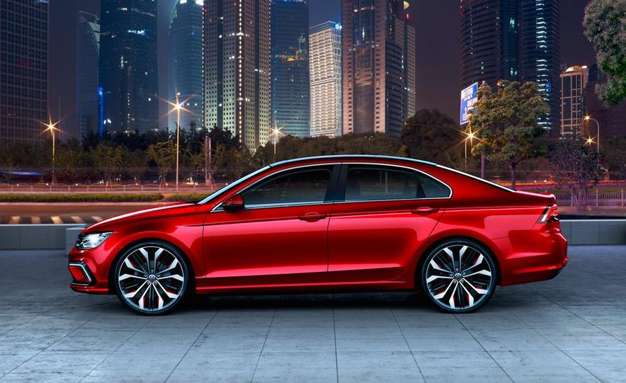 Volkswagen New Midsize Coupe concept - Slide 14