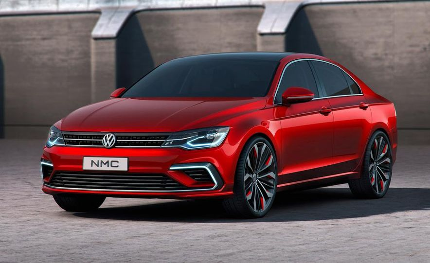 Volkswagen New Midsize Coupe concept - Slide 15