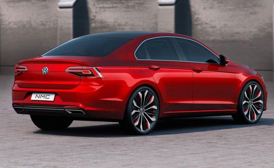 Volkswagen New Midsize Coupe concept - Slide 17