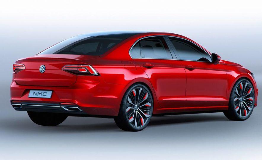 Volkswagen New Midsize Coupe concept - Slide 19