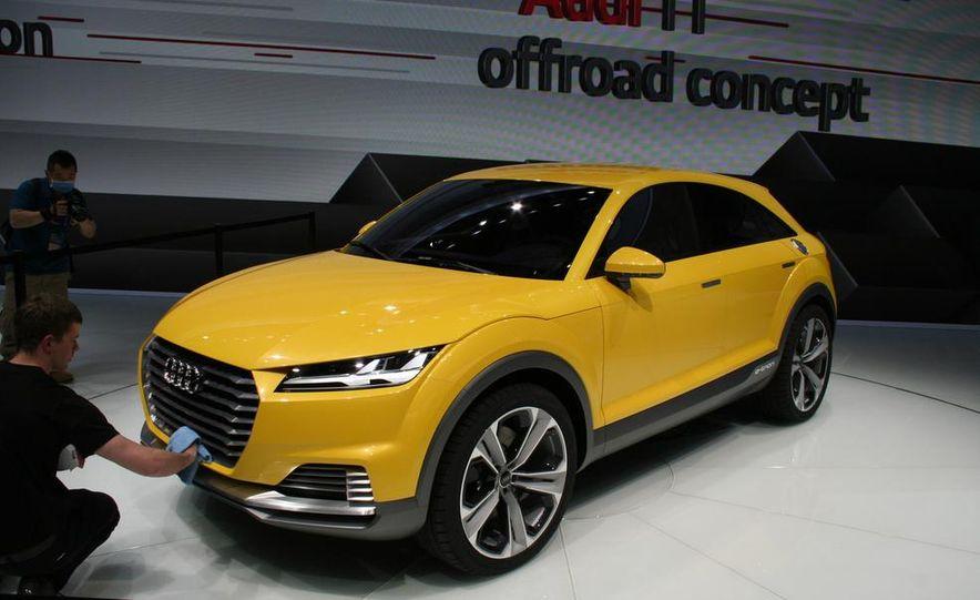 Audi TT Offroad concept - Slide 1