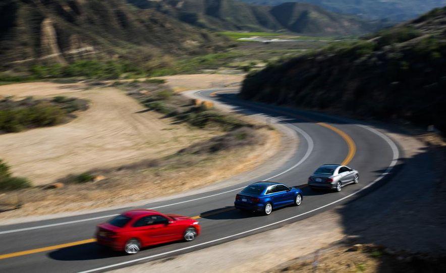 2014 BMW 228i M Sport, 2014 Mercedes-Benz CLA250 4MATIC, and 2015 Audi A3 2.0T Quattro - Slide 9