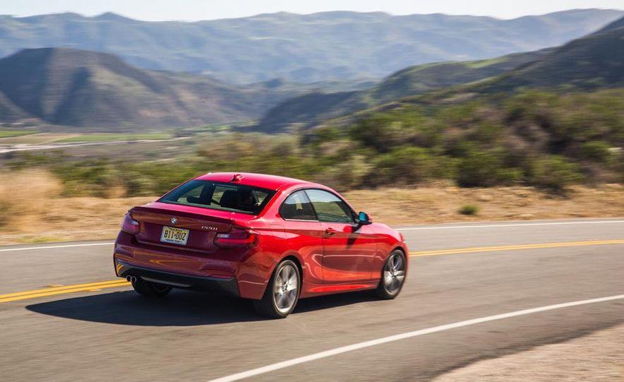2014 BMW 228i M Sport, 2014 Mercedes-Benz CLA250 4MATIC, and 2015 Audi A3 2.0T Quattro - Slide 32